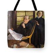 Henri Degas And His Niece Lucie Degas Tote Bag