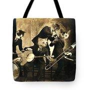 Hep Cats Tote Bag