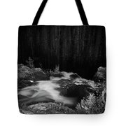 Hepokongas Waterfall Bw Tote Bag