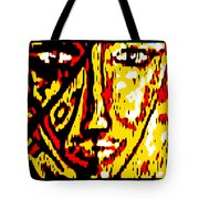 Her Multicultural Face Tote Bag