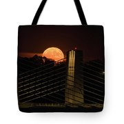 Here Comes Mister Moon 3 Tote Bag