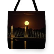 Here Comes Mister Moon 4 Tote Bag