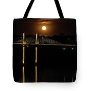 Here Comes Mister Moon 5 Tote Bag
