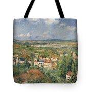 Hermitage In Summer, Pontoise, 1877 Tote Bag