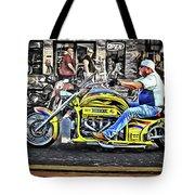 His Brodix Yellow Tote Bag