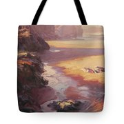 Hidden Path To The Sea Tote Bag