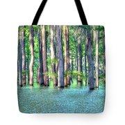 High Bayou Water Tote Bag