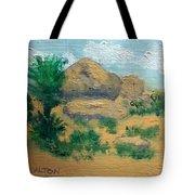 High Desert Rock Garden Tote Bag