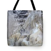 High Falls, Smaller Waterfall Tote Bag