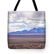 High Plains And Majestic Mountains Tote Bag