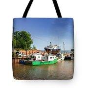 Hightide At Delhaven  Tote Bag