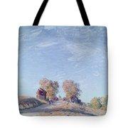 Hill Path In Sunlight, 1892 Tote Bag