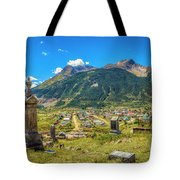 Hillside Cemetery Of Silverton Colorado Tote Bag