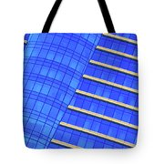 Hilton Blues Tote Bag