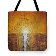 Hilton Head Sunrise Original Painting Tote Bag