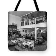 Hindsman General Store - Allensworth State Park - Black And White Tote Bag