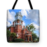 Historic Gwinnett County Courthouse Tote Bag by Doug Camara