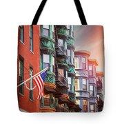 Historic North End Boston Massachusetts Tote Bag