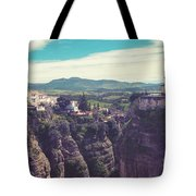historical village of Ronda, Spain Tote Bag by Ariadna De Raadt