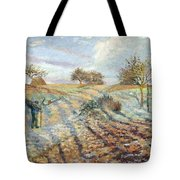 Hoarfrost At Ennery, 1873 Tote Bag