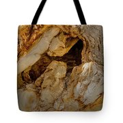 Hollow Tree Knot Tote Bag