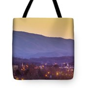 Holston Mountain Over Tennessee High Tote Bag