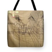 Holy Trinity And Our Lady Asia Tote Bag