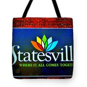 Hometown Street Art Tote Bag