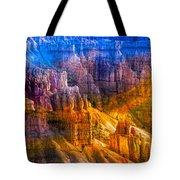 Hoodoo's Rainbow Color Mix Bryce Canyon  Tote Bag