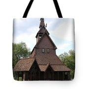 Hopperstad Stave Church Replica Tote Bag