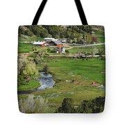 Horse Farm Tote Bag