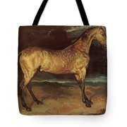 Horse In The Storm 1821 Tote Bag