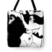 Horseman Being Chased By A Monster Tote Bag