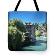 hot summer afternoon in Bern Tote Bag