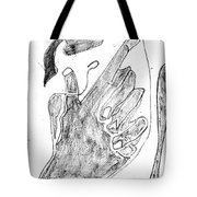 How The Camel Got His Hump Digital And Drawings D12-3 Tote Bag