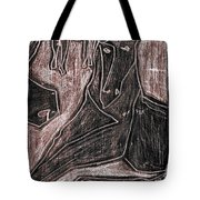 How The Camel Got His Hump Digital And Drawings D23-4 Tote Bag