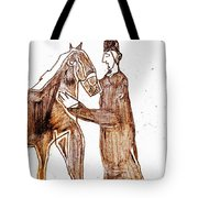 How The Camel Got His Hump Digital And Drawings D4-1 Tote Bag