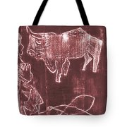 How The Camel Got His Hump Oil Otd Painting 16 Tote Bag