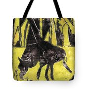 How The Leopard Got His Spots Oil Painting Otd3 Tote Bag