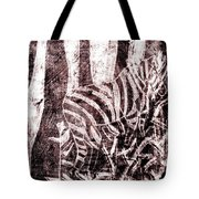 How The Leopard Got His Spots Zebra D16ed3 Tote Bag