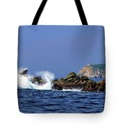 Huatulco Lighthouse Tote Bag