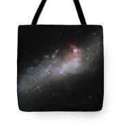 Hubbles Hockey Stick Galaxy Tote Bag