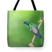 Hummingbird Abyss Tote Bag
