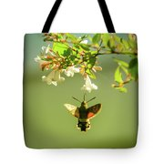 Hummingbird Hawk-moth Tote Bag