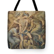 Hunting Fields Tote Bag