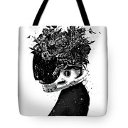 Hybrid Girl Tote Bag
