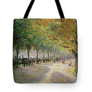 Hyde Park, London, 1890 Tote Bag