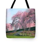 Weeping Spring Cherry  Tote Bag