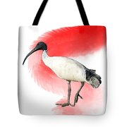 I Is For Ibis Tote Bag