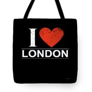 I Love London Tote Bag